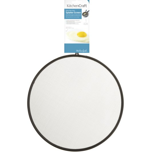 KitchenCraft 29cm Non-Stick Splatter Screen