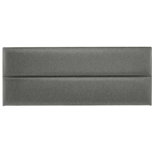 Contour headboard in mountain grey