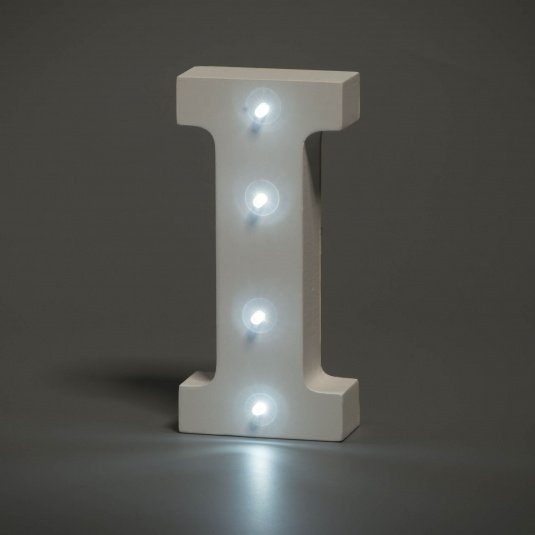 Light Up Letter - I