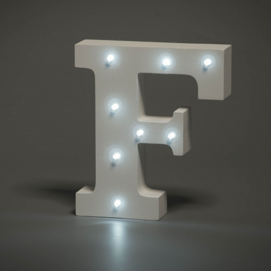 Light Up Letter - F