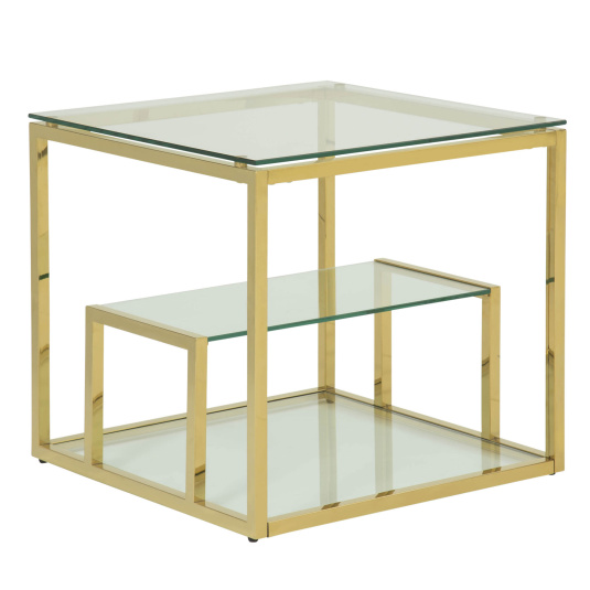Deco Glass Lamp Table