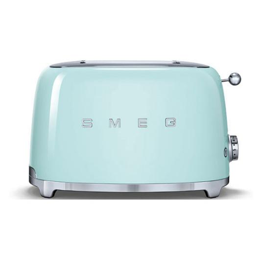 Smeg 50's Retro Style Pastel Green 2 Slice Toaster
