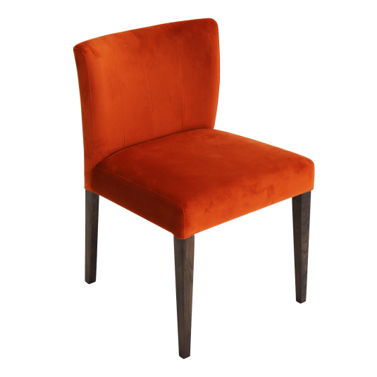 Hennessey Harvest Pumpkin Upholstered Dining Chair