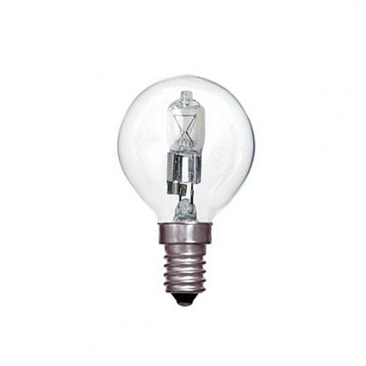Crompton Halogen Golf Ball Clear SES E14 42W Light Bulb