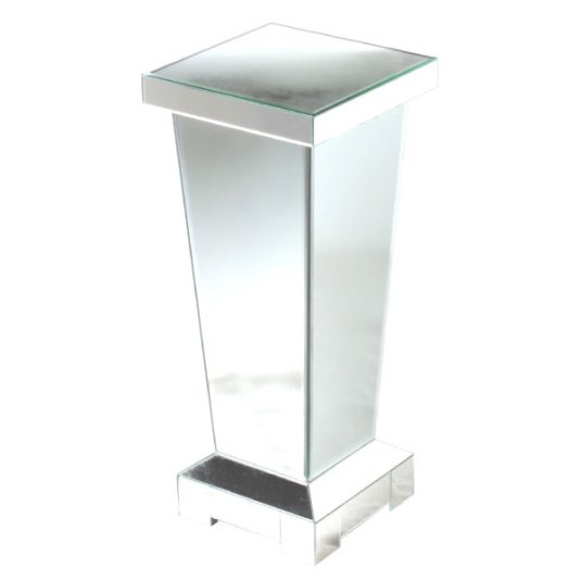 Mirrored Pedestal 70cm Tapered Pedestal