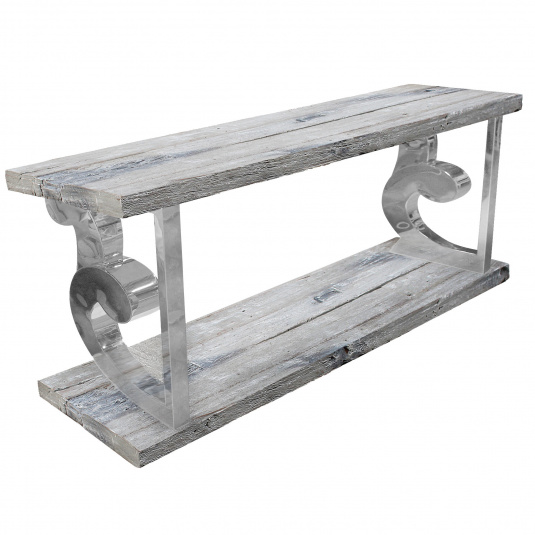 Eastport Reclaimed Wood Console Table