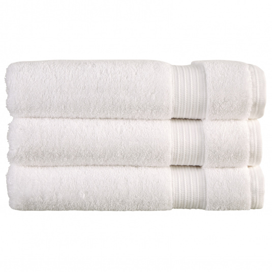 Christy Sanctuary White Hand Towel