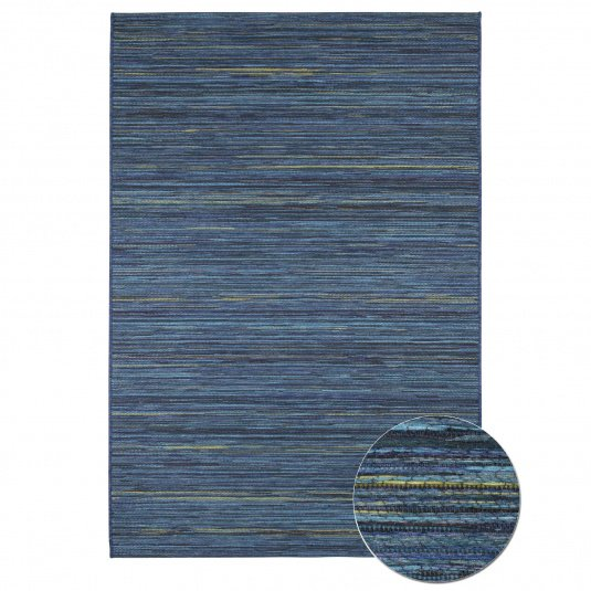 Brighton Blue Indoor or Outdoor 160cm x 230cm Rug