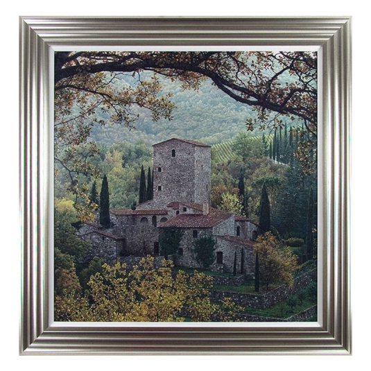Chianti Hills Framed Picture