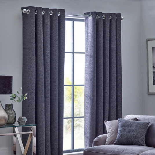 Belfield Orion Graphite 66x72 Curtains