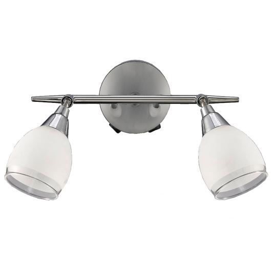 Lutina Polished Chrome 2 Light Wall Light