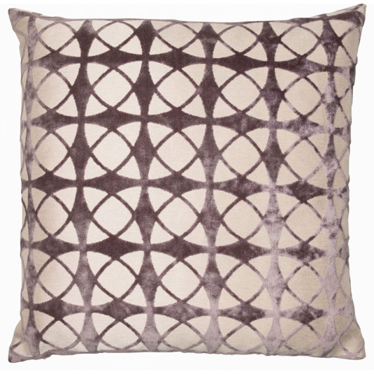 Spiral Blush Grey Cushion