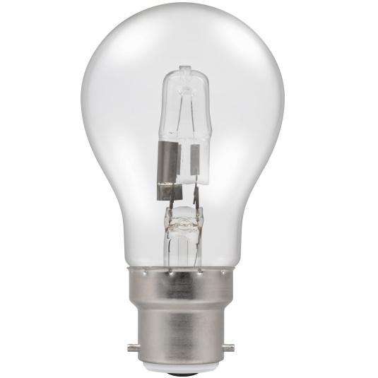 Crompton Halogen GLS Clear BC B22 70W Bulb