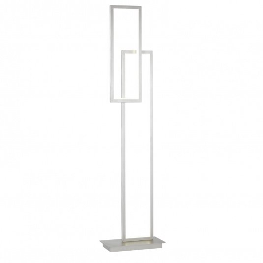 Wofi Viso Nickel LED Floor Lamp