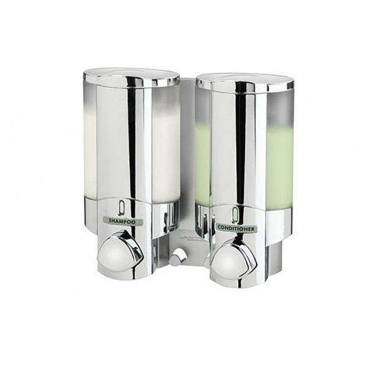 Markola Aviva II Twin Chrome Dispenser