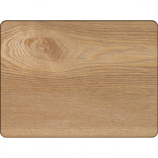 Set of 4 Oak Veneer Placemats
