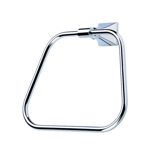 Imperial Highgate Chrome Towel Ring