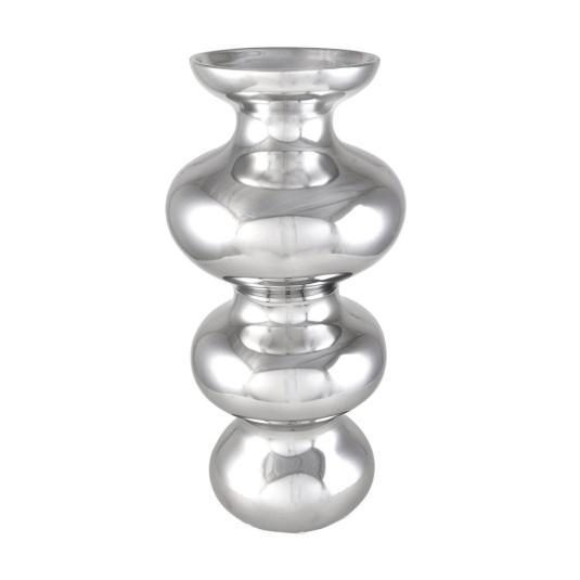 Medium Silver Bubble Vase