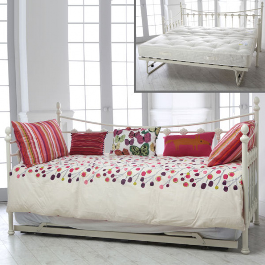 Rosie Day Bed and Under Bed Trundle