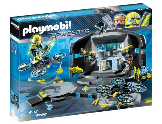 Playmobil Top Agents Dr Drone's Command Base