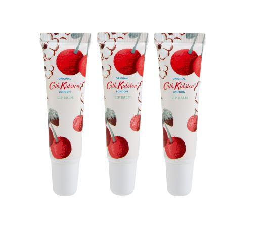 Cath Kidston Cherry Lip Balm Set