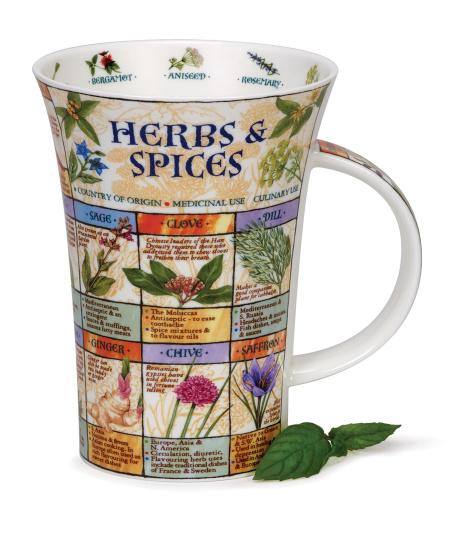 Herbs and Spices Novelty Mug