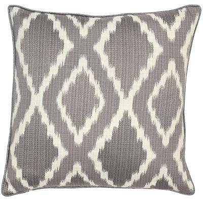 Malini Libra Diamond Charcoal Cushion