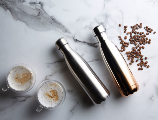 Copper Metallic 500 ML Flask