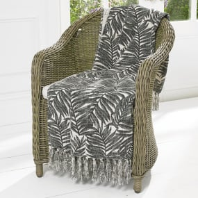 Eden Charcoal Throw