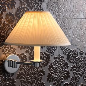 Imperial Bathrooms Brokton Chrome Bathroom Wall Light