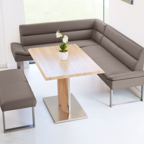 Lewis Right Hand Corner Bench Dining Set