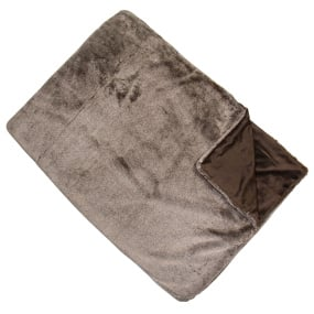 Malini Mellow Taupe Throw