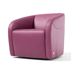 Rimini Leather Swivel Chair