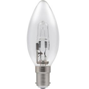 Crompton Halogen Candle Clear SBC B15 18W Bulb