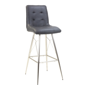 Avanti Black Bar Stool