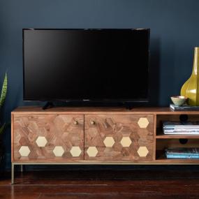Molton Wood TV Unit