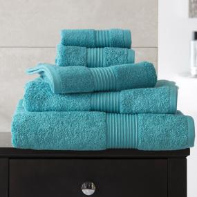 Bliss Teal Bath Sheet