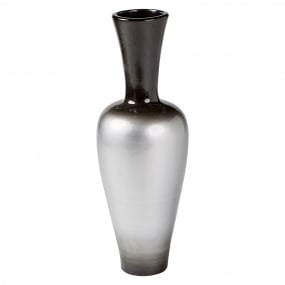 Large Grey Decorative Vase