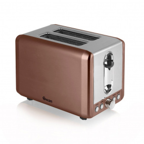 Swan Townhouse Copper 2 Slice Toaster