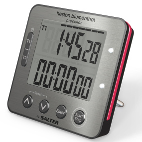 Salter Heston Blumenthal Electronic Digital Dual Kitchen Timer
