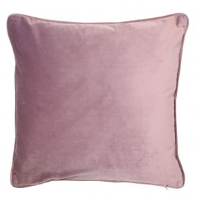 Malini Luxe Amethyst Velvet Piping Cushion
