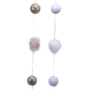 Assorted Foam Ball Garland Decoration | Housing Units