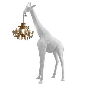 Giraffe In Love White Floor Lamp   Housing Units