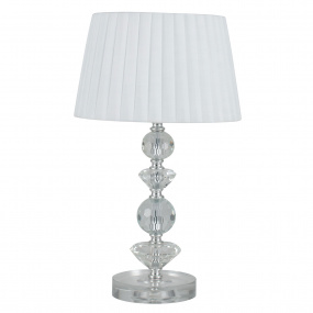 Gracie Crystal Table Lamp and Shade