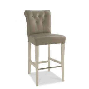 Hampton Leather Breakfast Bar Stool