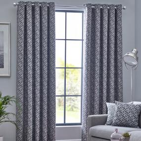Belfield Byron Graphite 90x72 Curtains