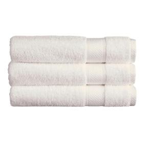 Christy Rialto White Hand Towel