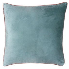 Riva Paoletti Meridian Mineral and Blush Cushion Cover