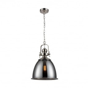 Vista Satin Nickel Pendant Light