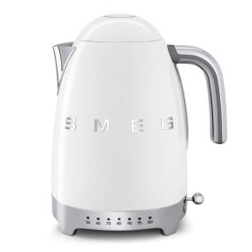 Smeg 50's Retro Style White Temperature Control Kettle
